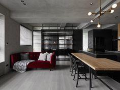 KC Design Studio Designs a Moody Black Apartment for a Single Person | Netfloor USA