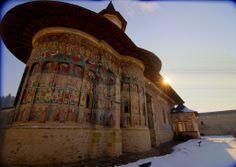 Mănăstirea Suceviţa România. Sucevita Monastery.