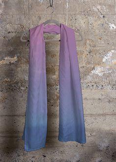 Cashmere Silk Scarf - Magic paths by VIDA VIDA px8s7qW49