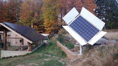 The Reflective Solar Tracker (RST) vs. Stationary Solar Panels