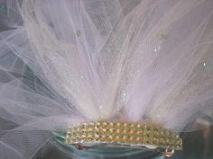 hen party, bachelorette veil, bachelorette party veil, bridal shower veil, shower veil, bride party veil, bridal shower accessory, veil by SuspendedStar on Etsy