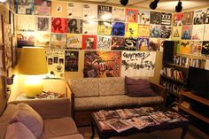 Inner Ear Studio | Maybe almost like the room with the record player where Quinn and Nicky hang out.