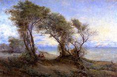 Cypress in the Fog by Kim Lordier Pastel ~ 24 x 18 Pastel Landscape, Landscape Paintings, Landscapes, Tree Paintings, Australian Painting, Australian Artists, Impressionist Artists, Impressionism Art, California Art