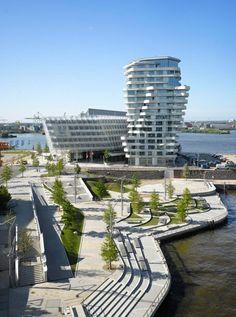 Torre Marco Polo / Behnisch Architekten © Roland Halbe