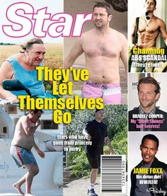 Fake Star Magazine Cover Shows Alternate Reality Where People Care About Men's Bodies - Since we think it's ridiculous to do this to male celebrities, why is it ok to do it to women? Star Magazine, Equal Rights, Women's Rights, Human Rights, Body Shaming, Intersectional Feminism, Body Image, Male Body, Female Bodies