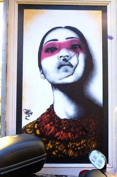 Paris 11 - rue Scarron - street art - Fin Dac