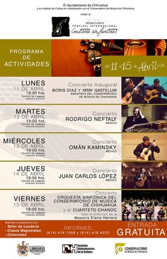 festival guitarra chihuahua meeting mexico1