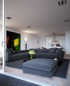 Project Keldermanbouw   Hooghe Hoed - teto + sofá