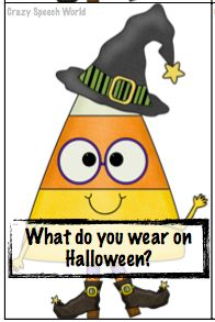 Crazy Speech World: More Halloween Fun with WH questions! - Re-pinned by @PediaStaff – Please Visit http://ht.ly/63sNt for all our pediatric therapy pins