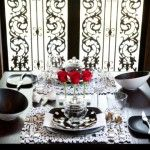 Romantic Table Setting. #Romantic #Love #DIY