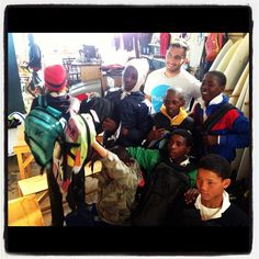 Huge thank-you to #Hurley for donating backpacks to our surf outreach kids. Hurley's marketing manager Josh Salie @jochaid was on hand to give out the bags. - @surfshack_capetown- #webstagram