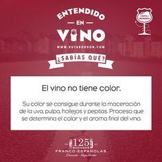 Entendido en vino con Rioja Bordón y Bodegas Franco Españolas. Color del vino