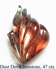 Sunstone (maybe Oregon sunstone) 47ct  Dalan Hargrave's excellent cutting