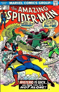 Items similar to Amazing Spider-man; Vol Gifts, comics, Bronze Age books, 1975 Marvel, NM- on Etsy Marvel Comic Books, Comic Book Characters, Comic Character, Comic Books Art, Comic Art, Marvel Characters, Book Art, Comic Superheroes, Old Comics