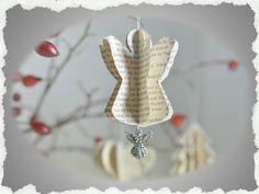 Baumschmuck: Sonstige - ღ Weihnachtsanhänger♥Christbaumschmuck♥Anhängerღ - ein Designerstück von Beij-a-flor bei DaWanda