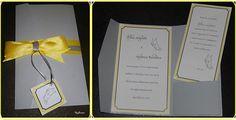 weding invitation, pocket folder  partecipazioni matrimonio