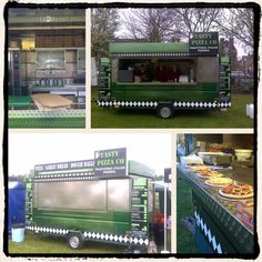 Our Pizza unit montage from KK Catering UK Pizza Vans, Corporate Events, Catering, Random, Pizza, Catering Business, Corporate Events Decor, Gastronomia, Casual