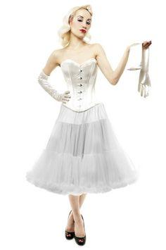 sm-18 Two layer super soft chiffon petticoat
