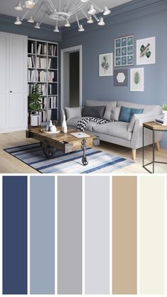 Family Picture Colors, Paint Color Schemes, Interior Paint Colors, Family Pictures, Sweet Home, New Homes, Lounge, Living Room, Furniture