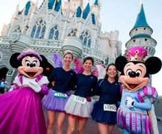 run a marathon. At Disney and dressed like a princess in running shoes!