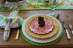 Designs by Pinky: ~~~Spring Centerpiece on the Kitchen Table~~~