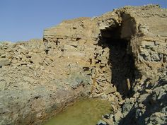 Sillamäe uraanikaevanduse strekilae varing / Collapse of drift roof in Sillamäe uranium mine in Estonia - Minest Retked