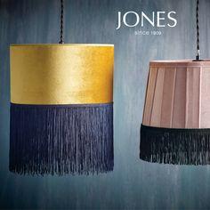 Jones Interiors I Trimmings Velvet Corner Sofa, Green Velvet Sofa, Pink Sofa, Pink Velvet, Pink Black, Blue Gold, Passementerie, Lamp Shades, Cozy House