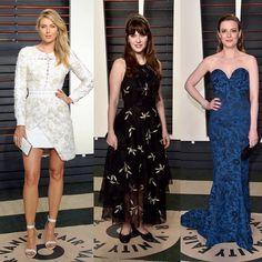 """""""#MariaSharapova in #Preen #ZooeyDeschanel in #SachinAndBabi #GillianJacobs #Oscars #Oscars2016"""""""