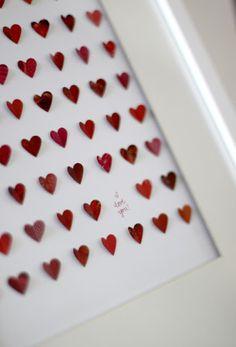 Paper Heart Craft.