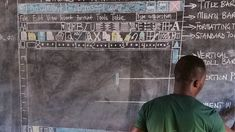 After a Ghanaian teacher using his blackboard to teach IT went viral, Microsoft promised to help.