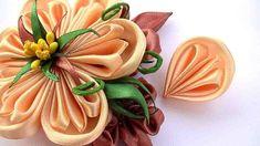 How to Make Flowers Petals Kanzashi / DIY Flowers Petals - YouTube