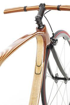 designboom bicicleta de madera de carbono