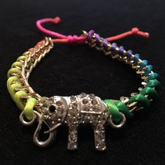 For Sale: Elephant Bracelet  for $10