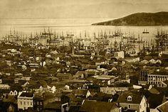 Daguerreotype of San Francisco, ca. 1850