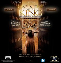 """""""One Night with the King"""" - The story of Queen Esther"""