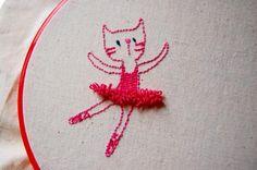 Ballerina Kitty, by tilde via Flickr