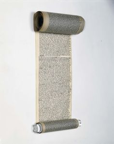 "The original Scroll for Kerouacs ""On The Road"""