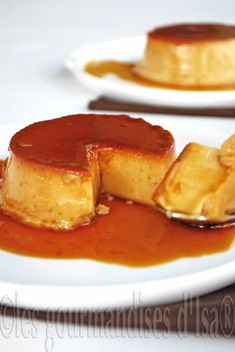 Les gourmandises d'Isa: CRÈME RENVERSÉE AU DULCE DE LECHE