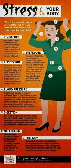 Stress and your body Learn more http://www.nkclinic.gr https://www.facebook.com/pages/NK-Clinic/110499602379675