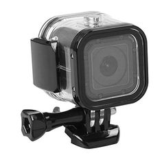 Colour: Black Maviss Accessories Protective Case for Gopro Hero 6 5 Black Edition Pu Leather Bag Case Protection for Go Pro Hero 6 5 Action Camera Accessories