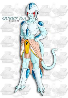 Queen Isa, Mother of Frieza from future chapters of DragonBall: Honor Trip Honor Trip is available at the following address on FanFiction.net: