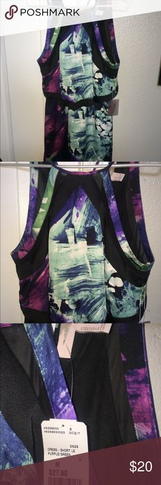 NWT!! Multi-colored forever 21 dress. Size medium. NWT!! Multi-colored forever 21 dress. Size medium. Never worn. Very pretty on!! Forever 21 Dresses Mini