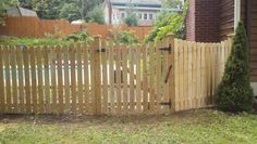 Cedar spaced picket styles from Protection Fence Company
