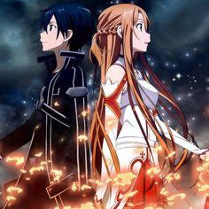 Wallpaper Animes, Anime Wallpaper Live, Animes Wallpapers, Sword Art Online Poster, Sword Art Online Wallpaper, Anime Elf, Chica Anime Manga, Manga Girl, Anime Girls