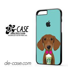 I Love Starbucks Dog 2 For Iphone 6 Iphone 6S Iphone 6 Plus Iphone 6S Plus Case Phone Case Gift Present YO