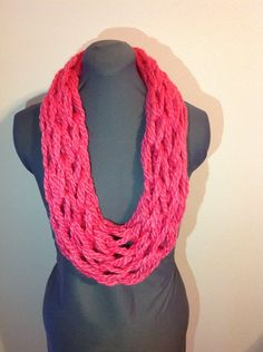 Infinity Scarf - Bright Spring by thisandthathomestead on Etsy