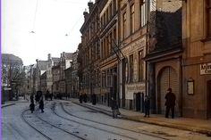 Соборная улица (Domstrasse). Вид в сторону Медового моста (View towards the Honigbrücke), фото ок. 1907 года
