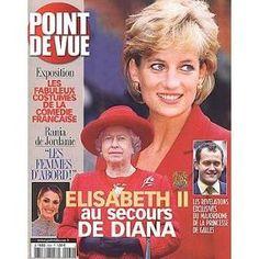 Point De Vue N° 2834 Du 13/11/2002 - Elisabeth Ii Au Secours De Diana - Les Costumes De La Comedie Francaise - Bania De Jordanie - Le Major D'homme De La Princesse De Galles.