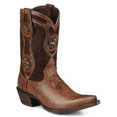 Ariat Women's Desperado Antique Concho Cowboy Boots