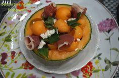 Melon Jambon de Pays et Feta